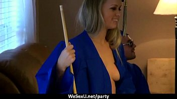 Girl Fucks During College Party 2