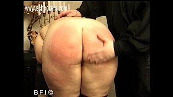 good-sized butt spanking