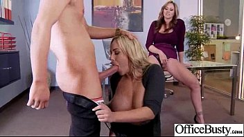 Busty Horny Girl (julia olivia) Get Hard Style Sex In Office vid-17