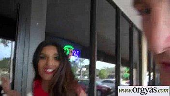 Hot Girl (Katalina Mills &amp_ Maya Mona) Get Seduced With Lots Of Money And Hardcore Nailed clip-15