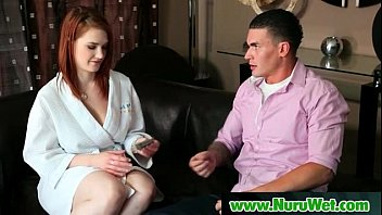 nurumassage sonny downright serviced by step-mummy.