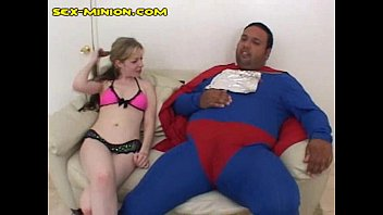 blond with chub superman