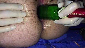 Anal Plug and Bottle Fucking My Asshole