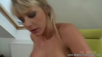 Czech Republic Blonde MILF Anal Sex