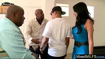 Big Black Mamba Cock Fill Right In Wet Pussy Of Milf (anissa kate) movie-05