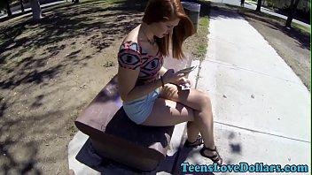 Real teen suck cash pov