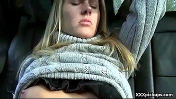 Hot Sexy Amateur Euro Slut Fucks In Public For Dollars 18