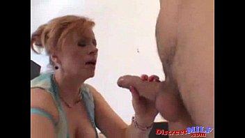 buxomy red-haired enjoys it inner ejaculation