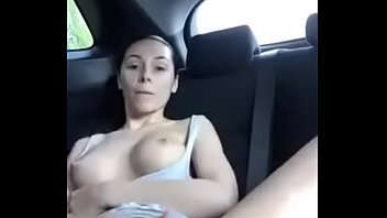 Self love in car in public
