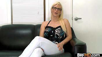 Blonde nerdy girl with glasses Horny, wet and ready to fuck 2.1