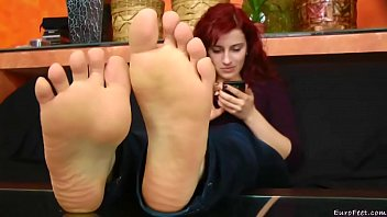 The Best Fuckable RedHead Sexy Feet You Ever Fuckin Seen