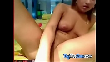 Cutie getting stuffed on her online cam chat at TryLiveCam.com
