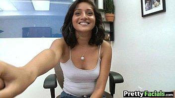 indian teenage gets a facial cumshot maya bazin.