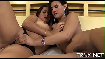 2 transsexual gfs find a heterosexual mature masculine.