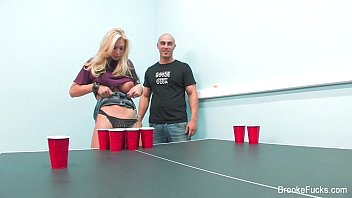 stellar beer pong with brooke banner