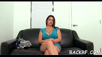 Steaming hot slut provides her cum-hole for a hot casting fuck