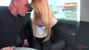 Kidnapped spanish blonde spread her legs anyway for horny stranger