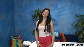 supah-sexy dark-haired honey gets kinky unclothing