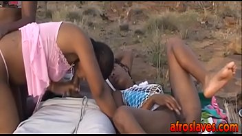 african interracial bang-out molten and outdoorit-arse-1