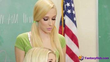 Lesbian Teacher Has Fun With Schoolgirl