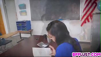 after school detention gets bizarre as girl-girl students.