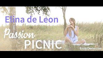 Elina de Leon - Passion picnic. Visit Eroticdesire.com to see full video.