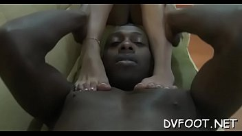 bombshells fucks face with feet