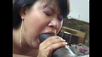 Slut with hairy kitty is having deep penetration