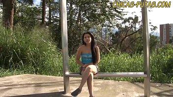 Teen latina with braces gets fucked hard