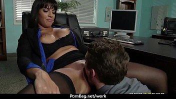 crazy office damsel pummeled stiff uncensored.