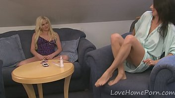 girl-on-girl duo loves themselves with orgy.