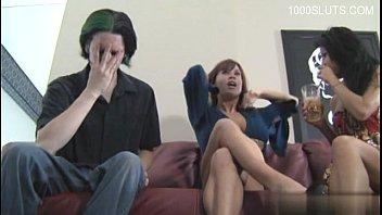 Sexy wife brutal anal orgasm