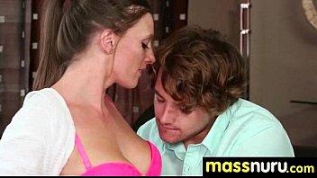 Babe Fires Nuru Massage 18