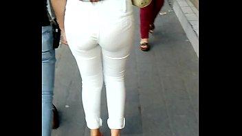 bootie en leggins blanco