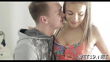 man slurps women sugary cooch prior to racy.