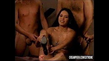 Latina Slut Takes 5 Creampies