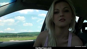 stud pokes puny stranded nymph in his truck 29