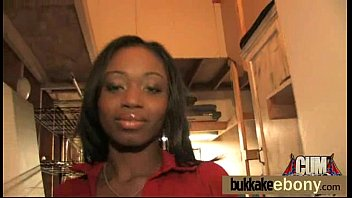 Group ebony blowjob and fucking ending with facial cumshot 10