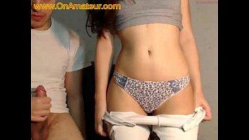 Amateur couple caught on webcam