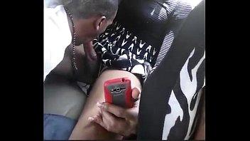 t damsel getting bj'ed in backseat-.