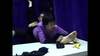 female eat masculine feet three