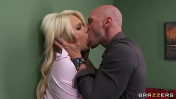 johnny sins takes down alexis ford in the office