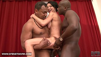 Mature Rough Double Fucked Likes Big Black Cocks In Pussy And Hard Anal