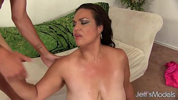 brown-haired plus-size angelina takes a hard shaft in.