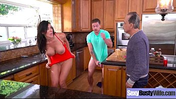 rock hard intercorse gauze with handsome massive-titted wifey.