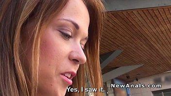 Czech girlfriend gets anal in hotel room