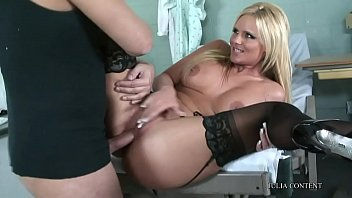 Blonde, big tits and so horny