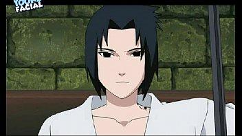 sasuke pulverizes karin naruto