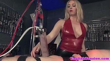 strapped slave lashed by lady dominance.
