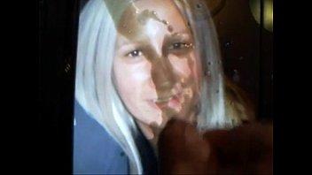 cum on sexy blonde